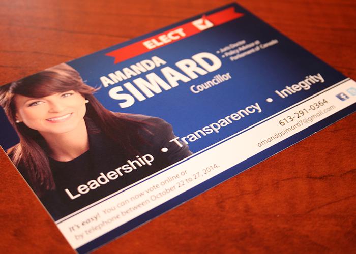 Amanda Simard Postcard