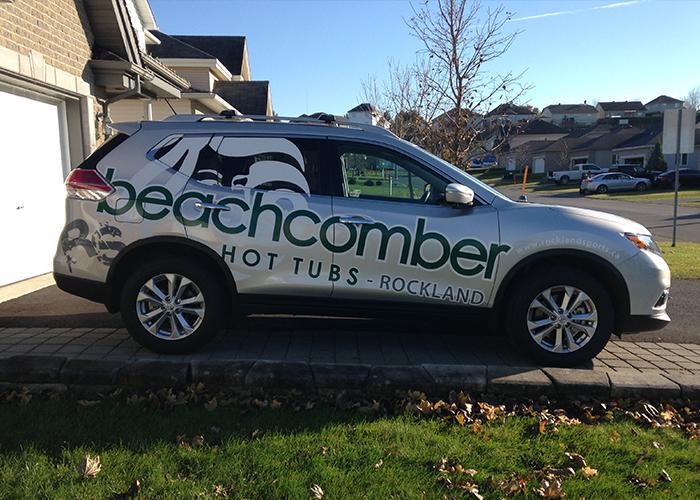 Beachcomber Car Vinyl