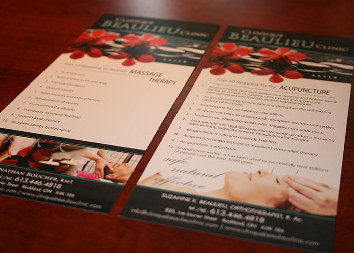 Beaulieu Clinic Product Cards