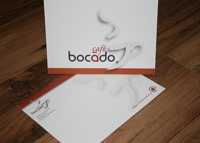 Bocado Postcard with envelope