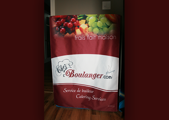 Chez l'Boulanger Table Runner