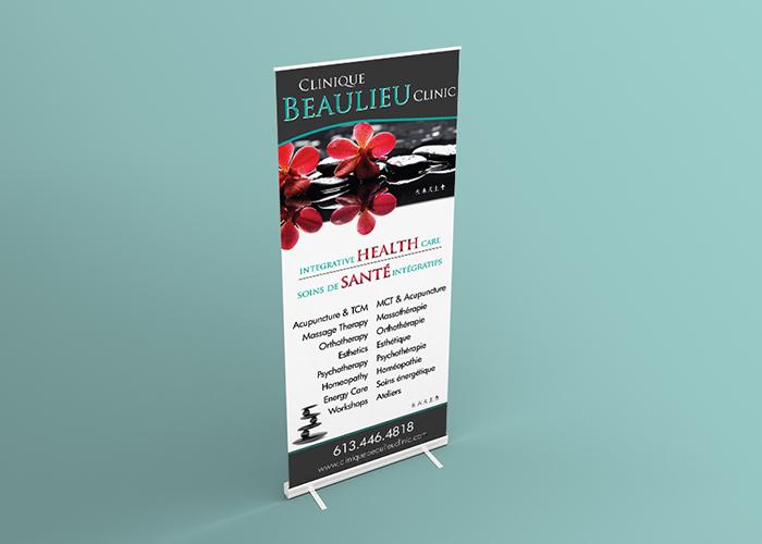 Clinique Beaulieu Pop-Up Banner