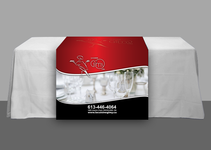 Cuisine Gimy Table Runner