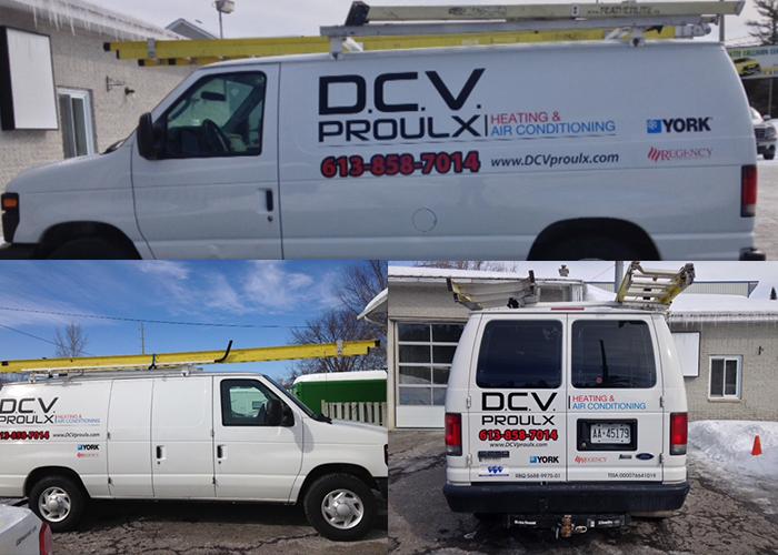 DVC Proulx Car Vinyl