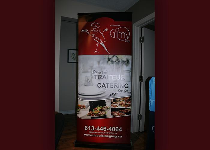 La Cuisine Gimy Pop-Up Banner