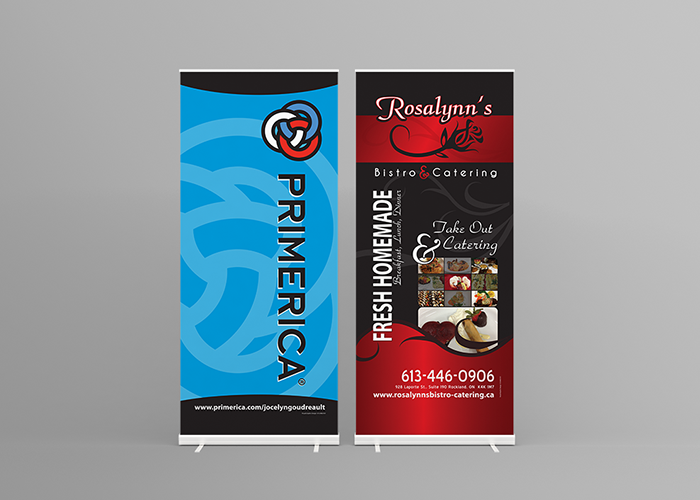 pop up banner design