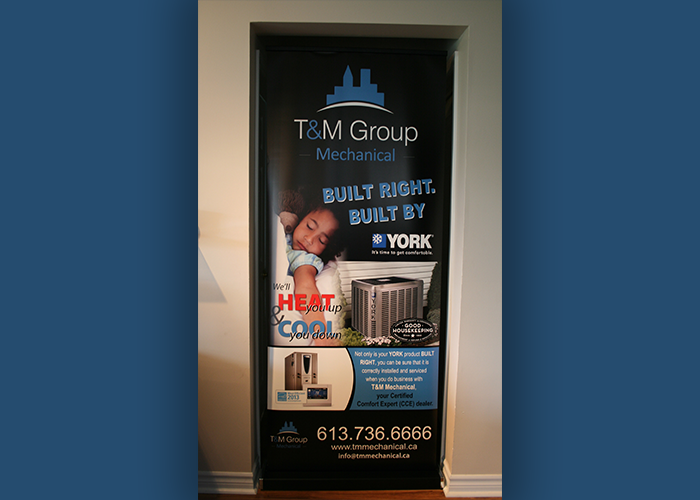 T&M Group Pop-Up Banner