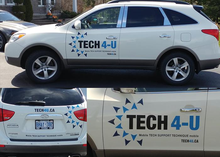 Tech4U Car Vinyl