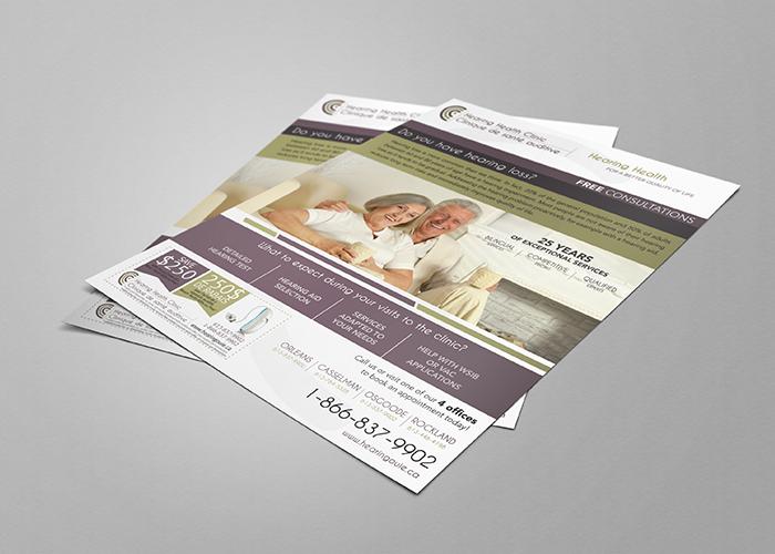 Clinique Auditive Flyer